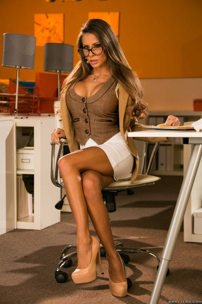 Sexual Performance Review - Madison Ivy Big Tits at Work Big.