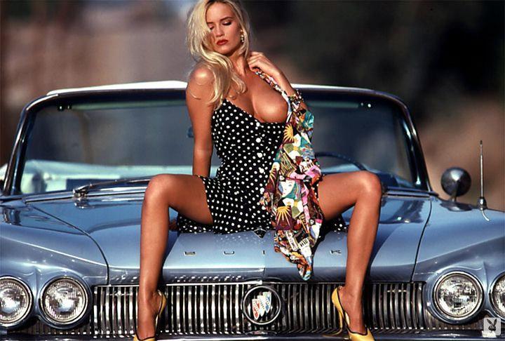 Barbara Moore ретро красотка