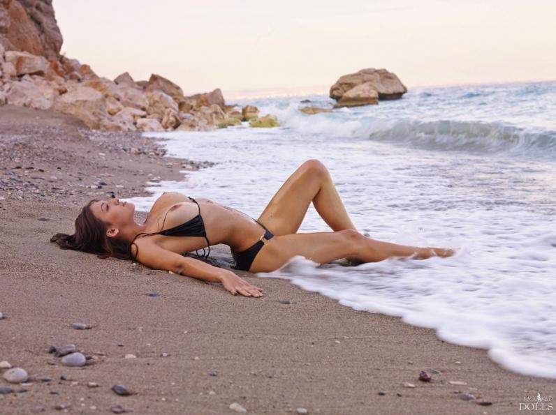 Большая подборка пляжных сисек